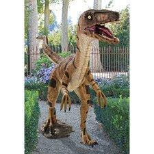 Velociraptor, Jurassic - Sized Dinosaur Statue