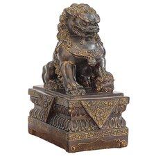 Chinese Foo Dog Guardian Female Lion Figurine