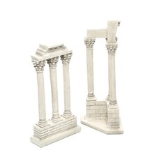 2 Piece Roman Forum Columns Sculpture