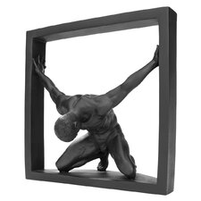 Boxed In Modern Male Nude Bowing Figurine