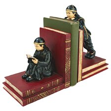 Asian Scholars Statue Book Ends (Set of 2)