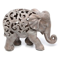 Anjan the Elephant Jali Figurine by Design Toscano