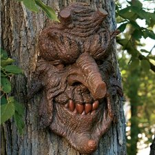 Poison Oak Greenman Tree Statue (Set of 2)