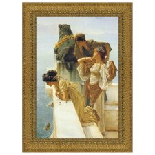 A Coign of Vantage, 1895 by Sir Lawrence Alma-Tadema Framed Painting Print