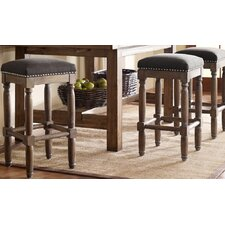 "Cirque 26"" Bar Stool with Cushion (Set of 2)"