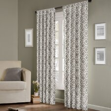 Delray Diamond Single Curtain Panel