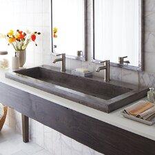 """Trough 48"""" Stone Bath Sink"""