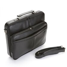 "American Genuine Leather 17"" Laptop Slim Briefcase"