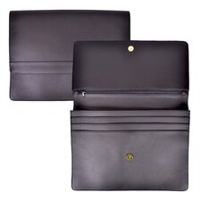 Genuine Leather Executive File Organizer Portfolio