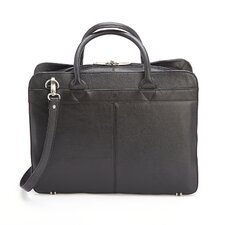 Genuine Pebbled American Leather Laptop Briefcase