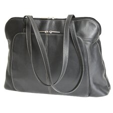 Genuine Leather Executive Women's Tote Laptop Bag
