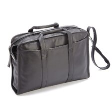 "Royce Leather 15"" Laptop Briefcase"