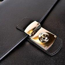 Kensington Leather Briefcase
