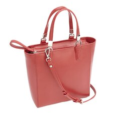 Saffiano Leather Mini Tote Cross Body Bag