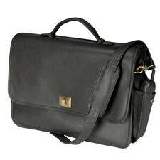 "Royce Leather 15"" Laptop Briefcase Bag"