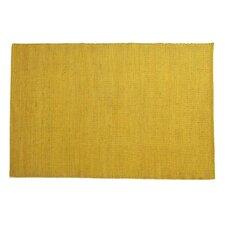 Tatami Yellow Area Rug
