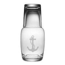 2 Piece Anchor Night Bottle Set