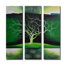 Radiance Nolana 3 Piece Original Painting on Canvas Set