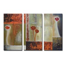 Radiance Arena 3 Piece Original Painting on Canvas Set