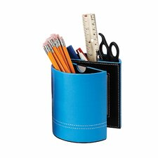 Leather Pen Holder With Frames (Set of 2)