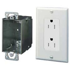 Duplex Outlet Kit with Surge Protection
