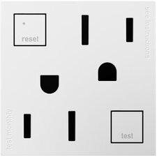 adorne Tamper-Resistant GFCI Outlet