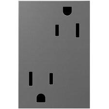 adorne Tamper-Resistant Outlet, 3-Module