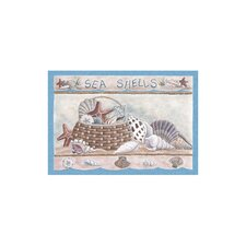 Home Accents Seashells Area Rug