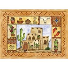 Southwestern Fun Area Rug