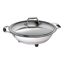 "12"" Classic Electric Skillet with Lid"