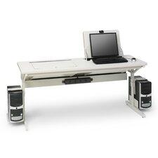"SmartDeck 66"" W  x 24"" D Training Table"