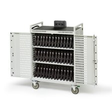 42-Compartment Laptop Storage Cart