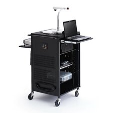 Multimedia Compact Presentation AV Cart