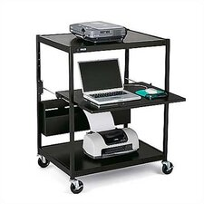 Wide Mobile AV Cart