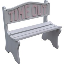 Time Out Wooden Bench