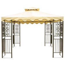 10 Ft. W x 10 Ft. D Steel Gazebo with Screen