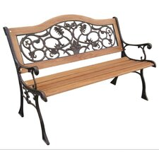 Birmingham Wood and Cast Iron Park Bench