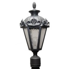 "Parisian Elegance 1 Light 21"" Post Lantern"