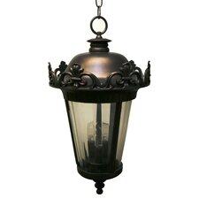 Parisian Elegance 3 Light Outdoor Hanging Lantern