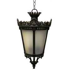 Tuscany 3 Light Outdoor Hanging Lantern
