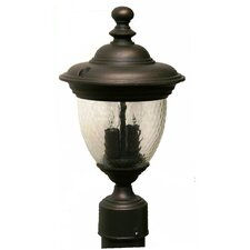 "Tuscany 2 Light 15.25"" Post Lantern"