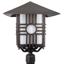 "Americana Zia Series 1 Light 24.75"" Post Lantern"