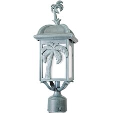 "Americana Palm Tree Series 1 Light 18.5"" Post Lantern Head"