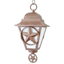 Americana 1 Light Outdoor Hanging Lantern