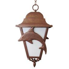 Americana 3 Light Outdoor Hanging Lantern