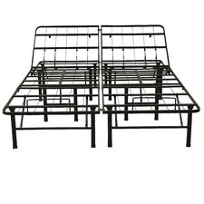 "14"" Adjustable Heavy Duty Metal Bed Frame/Mattress Foundation"