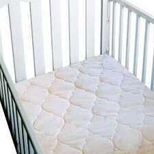 Waterproof 3-Ply Flat Crib Pad