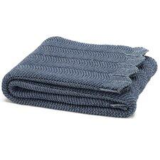 Eco Designer Pointelle Throw Blanket
