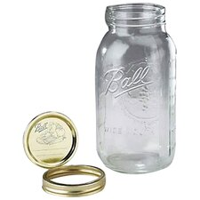 Ball 0.5 Gallon Wide Mouth Canning Jar (Set of 6)
