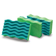 Anti-Bacterial Sponge (Pack of 3)